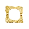 Bronze Connector Square 21mm Ruffled